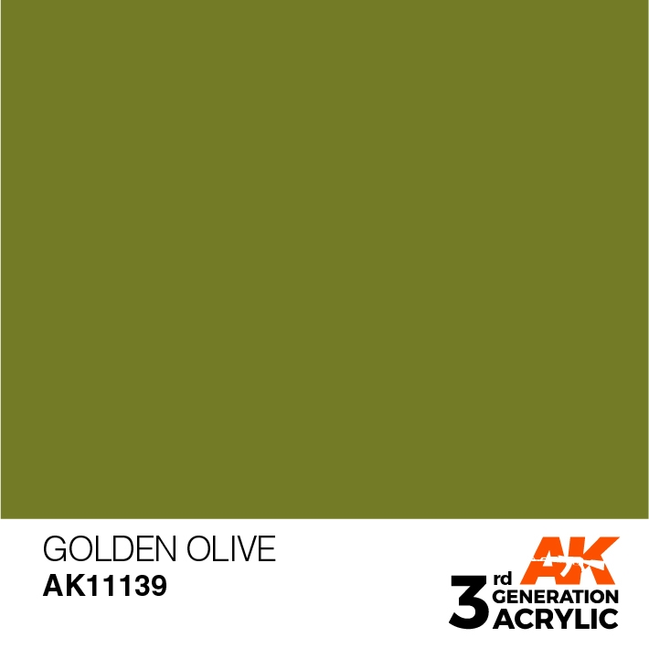AK-Interactive 3rd Gen Paints: Golden Olive