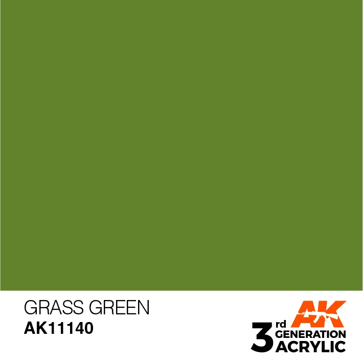 AK-Interactive 3rd Gen Paints: Grass Green