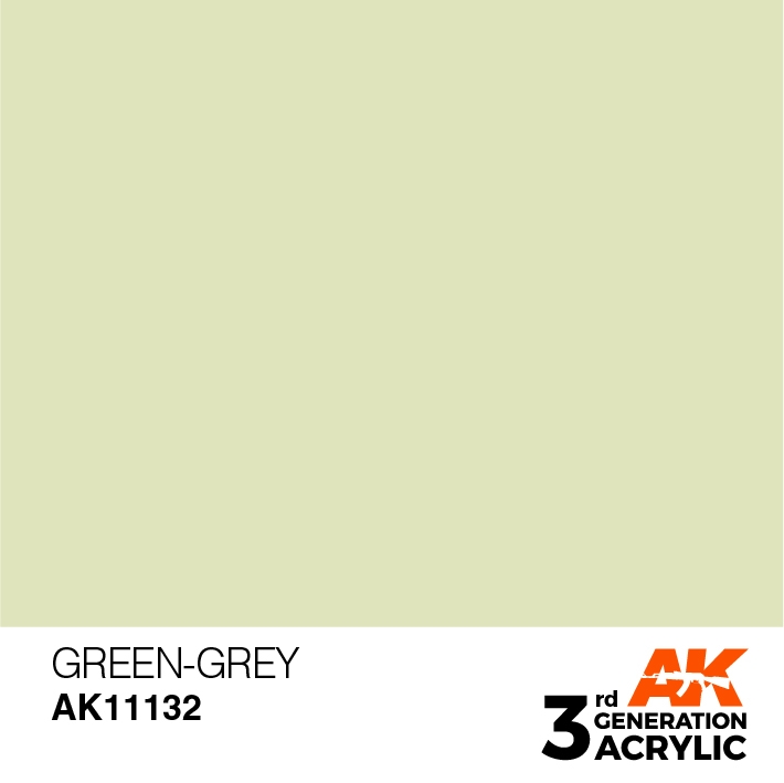 AK-Interactive 3rd Gen Paints: Green-Grey