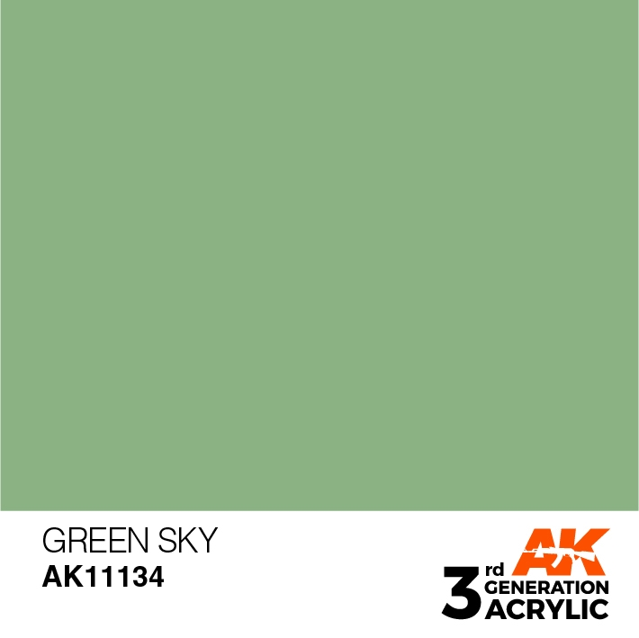 AK-Interactive 3rd Gen Paints: Green Sky