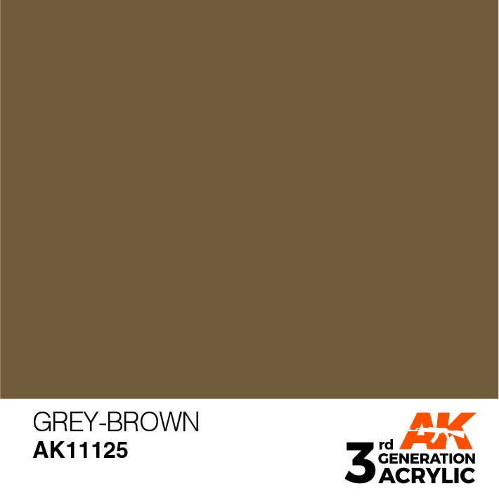 AK-Interactive 3rd Gen Paints: Khaki Grey
