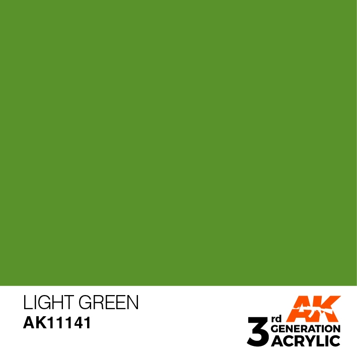 AK-Interactive 3rd Gen Paints: Light Green