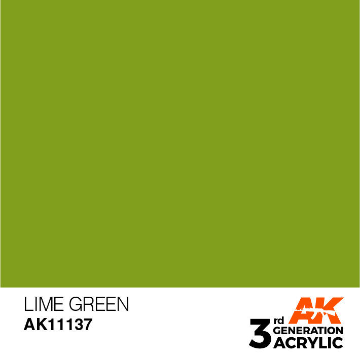 AK-Interactive 3rd Gen Paints: Lime Green