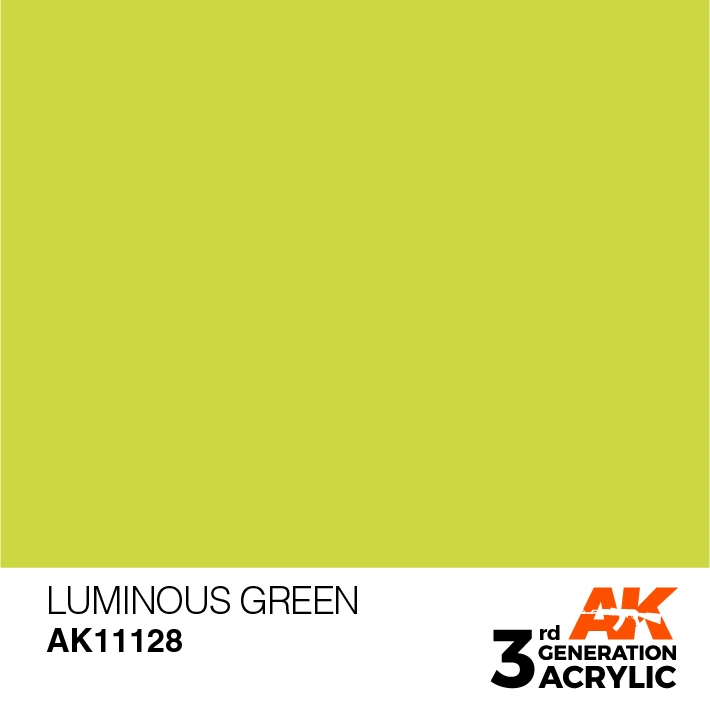AK-Interactive 3rd Gen Paints: Luminous Green