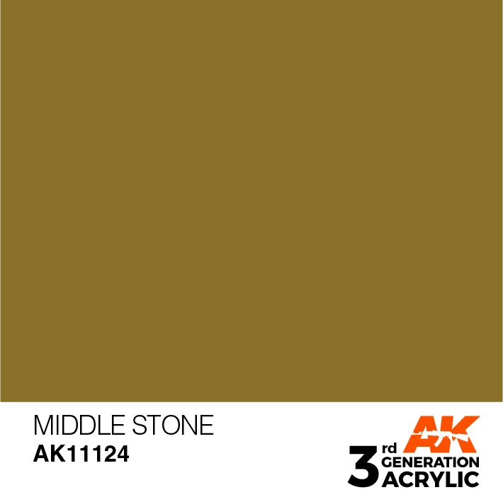 AK-Interactive 3rd Gen Paints: Middle Stone