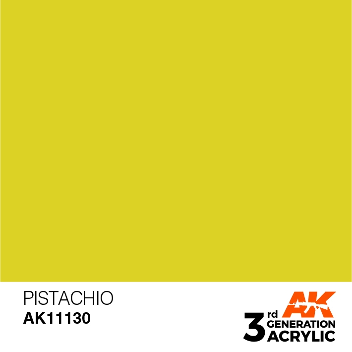 AK-Interactive 3rd Gen Paints: Mustard