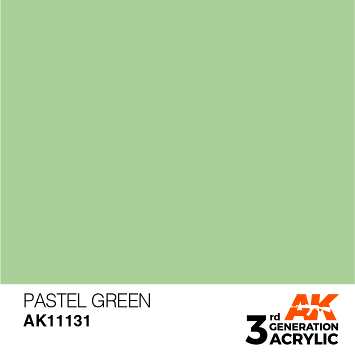 AK-Interactive 3rd Gen Paints: Pastel Green