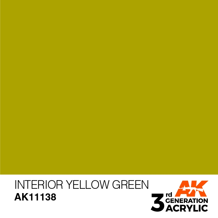 AK-Interactive 3rd Gen Paints: Pear Green