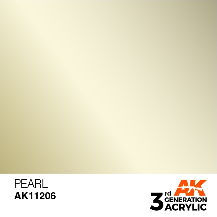 AK-Interactive 3rd Gen Paints: Pearl