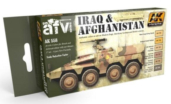 AK-Interactive AFV Series: Set- Iraq & Afghanistan