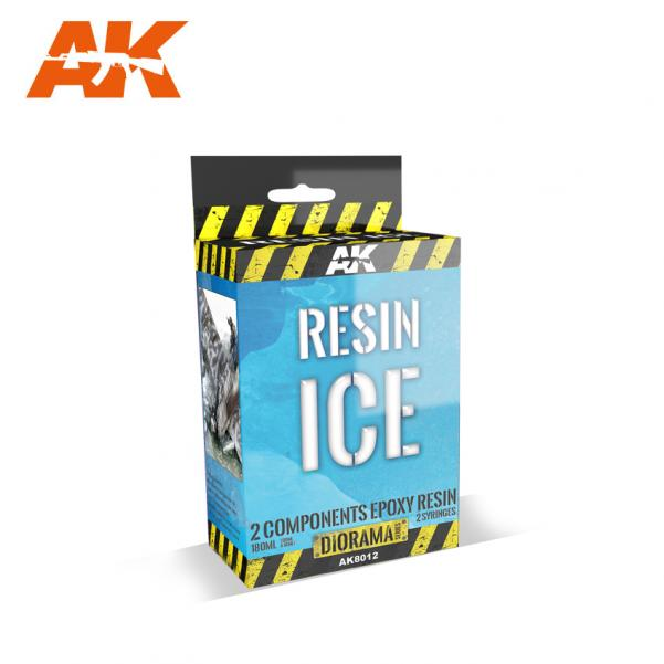 AK-Interactive Acrylic Diorama Series: Resin Ice (180ml)