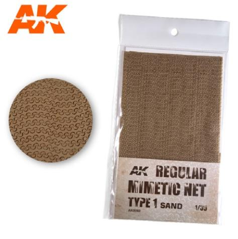 AK-Interactive: Camouflage Mimetic Net type 1 - Sand