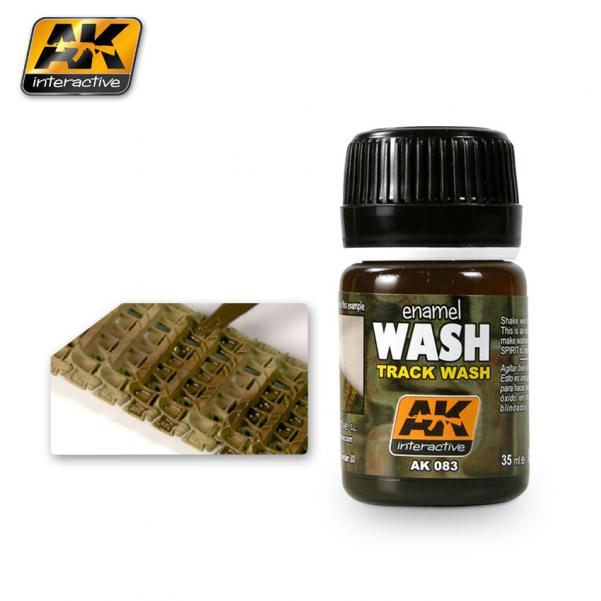 AK-Interactive Enamel Washes: Track Wash
