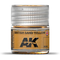 AK-Interactive Real Colors RC093: British Sand Yellow