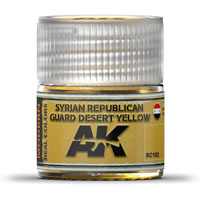 AK-Interactive Real Colors RC102: Syrian Republican Guard Desert Yellow