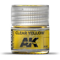 AK-Interactive Real Colors RC507: Clear Yellow