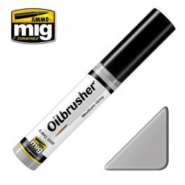 AMMO Oilbrusher: Medium Grey
