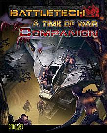 BattleTech (RPG): A Time of War Companion (Damaged)