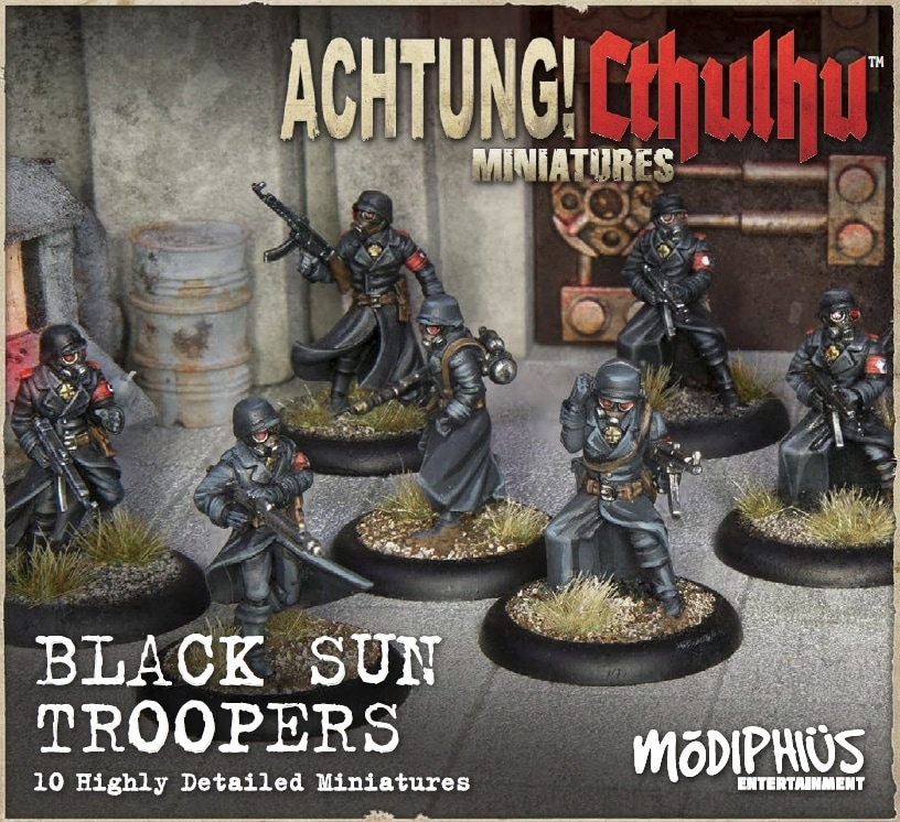 Achtung! Cthulhu: Black Sun Troopers Unit Pack