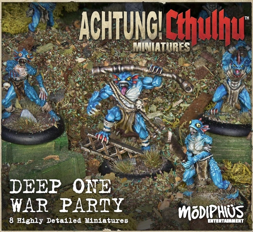 Achtung! Cthulhu: Deep Ones Warparty Unit Pack (minis)