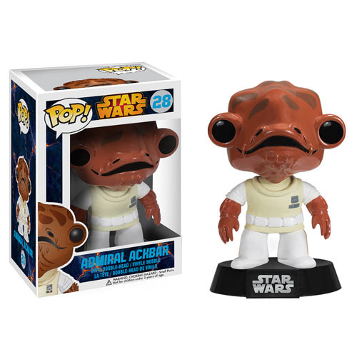 POP! Star Wars 028: Admiral Ackbar