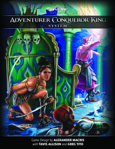 Adventurer Conqueror King System: Core Rulebook