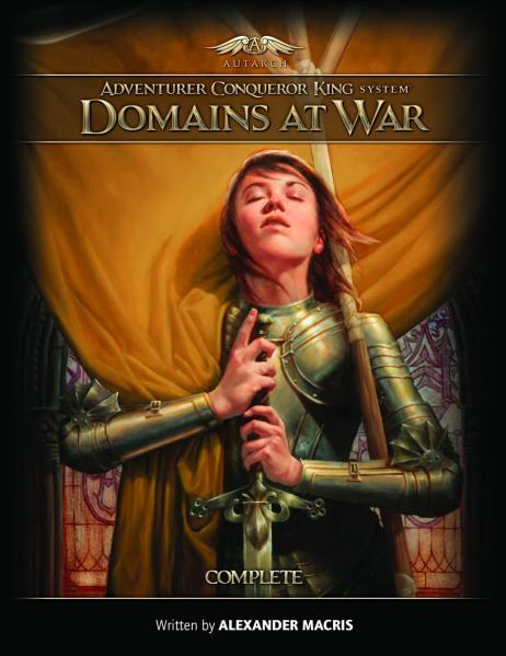 Adventurer Conqueror King System: Domains at War- Complete