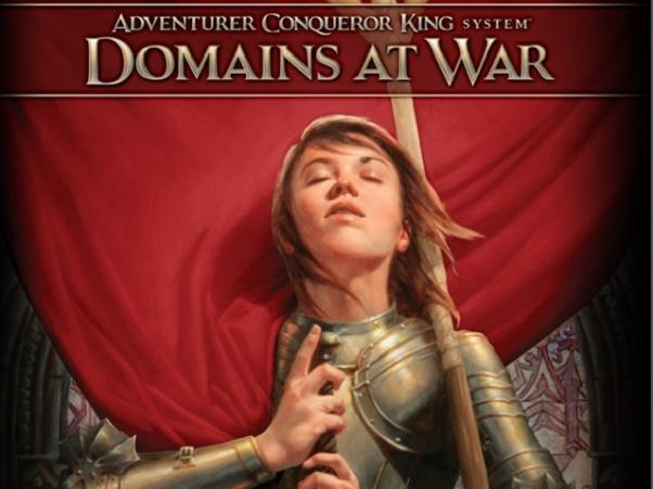 Adventurer Conqueror King System: Domains at War- Hardcover Compendium