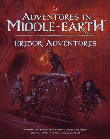 Adventures In Middle-Earth: Erebor Adventures (HC)