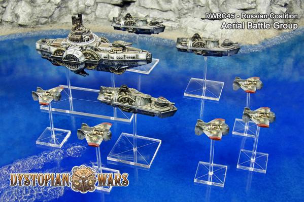 Dystopian Wars: Russian Coalition: Aerial Battle Group