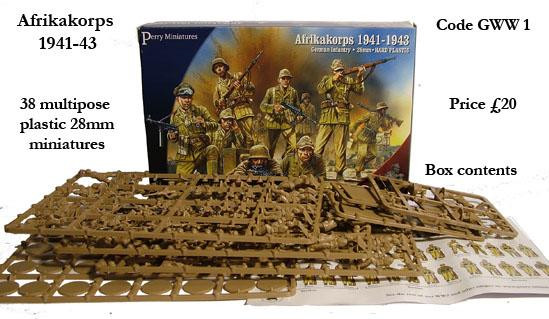 Perry: 28mm WWII: Afrikakorps 1941-1943