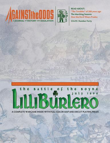 Against the Odds #40 - Vol. 10 Num. 4: Lilliburlero: The Battle of the Boyne