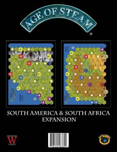 Age of Steam: South America/ South Africa