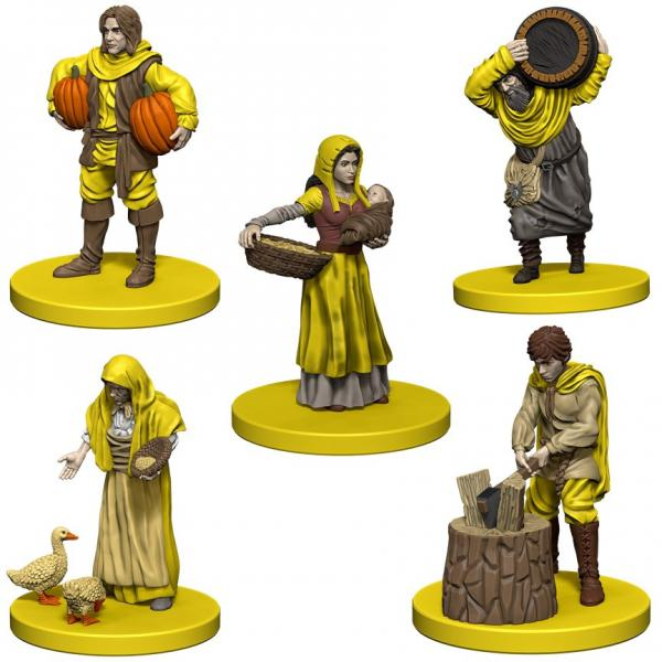 Agricola: Game Expansion- Yellow