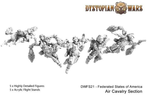 Dystopian Legions: Federated States of America: Air Cavalry Section [SALE]