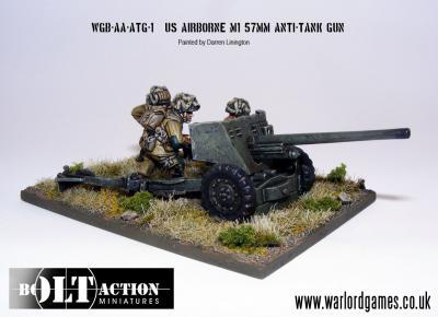 Bolt Action: USA: Airborne 57mm ATG & Crew