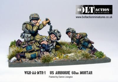 Bolt Action: USA: Airborne 60mm Mortar & Crew