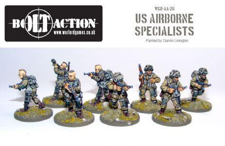 Bolt Action: USA: Airborne Specialists