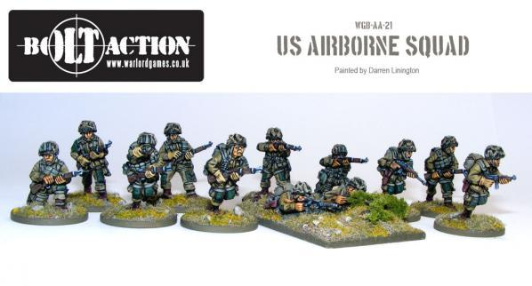 Bolt Action: USA: Airborne Squad