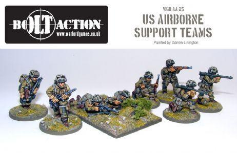 Bolt Action: USA: Airborne Support Teams