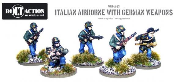 Bolt Action: Italian: Airborne with German Weapons