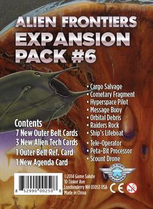 Alien Frontiers: Expansion Pack #6 (SALE)