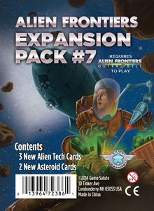 Alien Frontiers: Expansion Pack #7 (SALE)