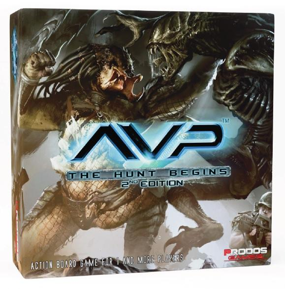 Alien vs Predator: The Hunt Begins (2nd Edition) [Damaged]
