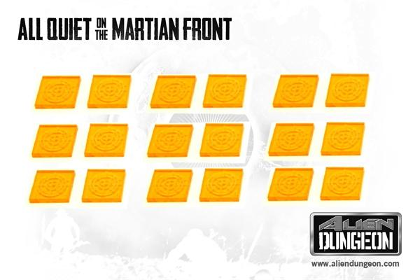 All Quiet on the Martian Front: Blip Markers (SALE)