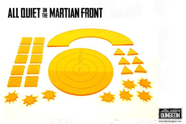 All Quiet on the Martian Front: Templates (SALE)