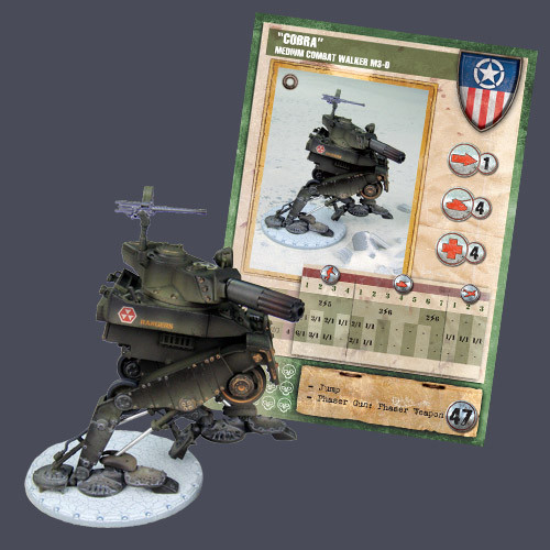 "Dust Tactics Premium Edition: Allied: Dust Tactics: ""MCW M3"" Tank"