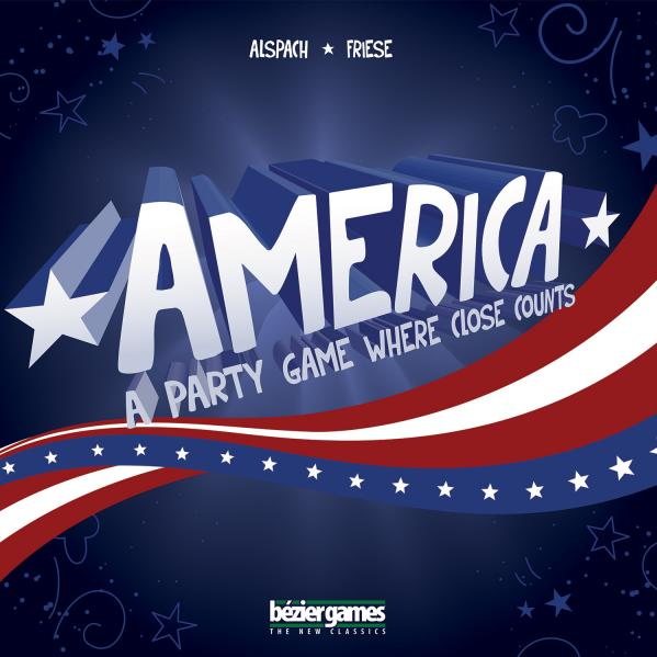 America: A Party Game Where Close Counts (SALE)