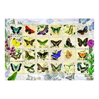 Anatolian Puzzles: Butterfly Stamps
