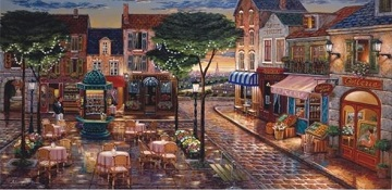 Anatolian Puzzles: EVENING AT THE SQUARE